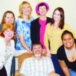 The Meeker Arts and Cultural Council in cooperation with the ERBM Recreation and Park District will present a dinner theatre production based on Aesops Fables, Saturday, Feb. 23 at the Fairfield Center. The cast includes local community actors and members of the school drama club. Pictured are Faye Peterson, Michelle Smith, Kalene Weinholdt, Katerine Eliasen, Mariah Jensen and Ohana Mataeia stand around Jason Hightower. Not pictured are Stephy Joos, Caleb Jensen and McKenna Kummer. Contact the WRBM at 878-3403 for tickets, which must be purchased in advance.