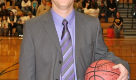 Klark Kindler has been the head basketball coach for the Meeker boys basketball team for the past 15 years, was recognized last week before the final game of the regular season against Rangely for 199 career wins for the school and at the end of the game he had coached his 200th career win.