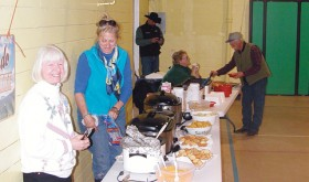 Volunteers and Friends of the FFA Alumni cooked and served lunch to the county residents taking part in the day of seminars. Author and speaker Jim Whitt was keynote speaker at the event.