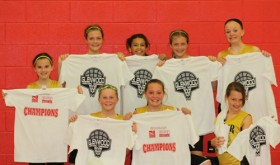 The Meeker sixth-grade girls basketball team won the league championship last weekend in Glenwood Springs and are pictured with their championship T-shirts. The young Lady Cowboys used tough defense to beat teams from larger towns including Craig, Olathe, Montrose and Grand Junction in the championship game. Playing on the championship team (front) were Kenzie Turner, Megan Shelton and Lily Klinglesmith; (standing) Kirsten Brown, Kassie Luce, Tori Lasker, Krissie Luce and Ellie Anderson.