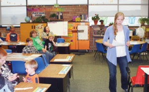 "Parkview Elementary School Writing Night, hosted March 28 by the school's Parent Involvement Committee, was attended by approximately 20 parents. Teachers from kindergarten through fifth grade explained the ""Step Up"" program for each grade."