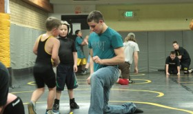 Youth wrestling…