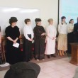 Ten Meeker-area women portrayed members of the area’s pioneer families during the “Pioneer Women in Rio Blanco County” presentation put on by the Rio Blanco County Historical Society on Sunday at Kilowatt Korner in Meeker. Roughly 75 persons attended the program.