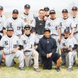 The second doubleheader between Rio Blanco Countys two high school baseball teams was supposed to be played in Meeker, but, because of a wet field, the games were played in Rangely on Saturday, when the Panthers won both as they did in the first doubleheader. Playing for the Panthers this year are, in back, coach Gary Denny, coach West Torsell, Chad Bolding, Gabe Garcia, Cameron Enterline, Bryson Palacios, Layne Mecham, Jimmie Sherman, Tobie Gasper, Josh Bolding, coach Jeremy Lohry and coach Paul Fortunato. In front, Fredy Ruiz, Manny Madrid, Kelton Elam, Kiki Ruiz, Jessy Powell and Kaulan Brady.