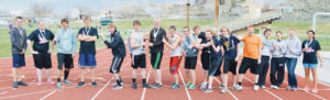 The Rangely High School boys' track team will add a team championship to the school's trophy case after winning the Panther Invitational at Yeager Field on Saturday. The Lady Panthers finished second. Competing on their home track were Daniel Conor, Holly Lepro, Andrew Morton, Chance Sheppard, Mitchell Webber, Colton Coombs, William Scoggins, Connor Phelan, Marshal Way, Ethan Allred, Tanner Nielsen, Kaycee Freeman, Dale Nielsen, Brittany Babaneaux, Leslie Hernandez, Chelsea Ficken and Tessa Slagle.