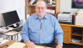 Russell George, finishing his second year as president of Colorado Northwestern Community College, offers knowledge of the past, a vision of the future and a long career of serving Colorado.