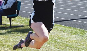 Sydney Hughes won the triple jump and was on the winning 800-meter medley relay team. The Cowboys will be in Battle Mountain on Saturday.