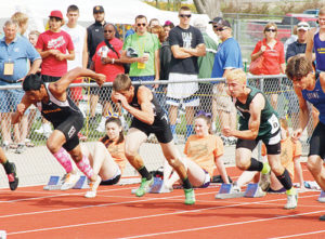 Meeker senior Tala Atoafa and Rangely junior Andrew Morton finished sixth and fifth respectively in the 110-meter hurdles.