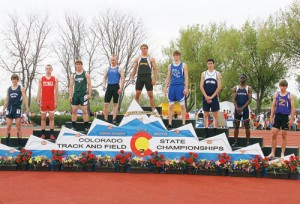 Meeker freshman T.J. Shelton was the fastest 2A male in the Colorado State Track and Field Championships, and Rangely senior Colton Coombs was fourth.