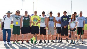 Rangely was represented at the 2013 Colorado State Track and Field Championships by assistant coach James Kurrasch, head coach Stephanie Kahler, Holly Lepro, Andrew Morton, Colton Coombs, Connor Phelan, Colt Allred, Mitchell Webber, Chelsea Ficken and William Scoggins.