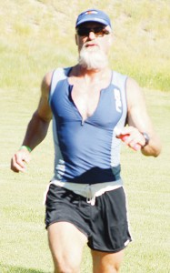 Meeker's Kent Walter finished second in the 50-54 age division.