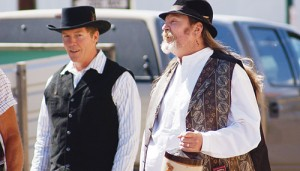The first bank robbery in Meeker happened in 1896 and will be reenacted Thursday, July 4, in downtown Meeker at 3 p.m. The RBC Historical Society puts on the event and serves root beer floats after the performance.
