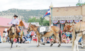 "The ""Best of Show"" award for entries in the Range Call Fourth of July Parade goes to the entry that does the best job depicting the parade theme, which was ""Keeping Traditions Alive"" this year. The winner of the award was Sable Mountain Outfitters."