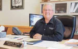 Dick Welle, the general manager of White River Electric Association officially retires on Oct. 1 after 38 years with the company and 12 years at the helm. Welle plans to remain in Meeker and enjoy a little more time fishing and relaxing, but he will also stay on with WREA/Tri-State as a consultant.