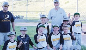 Meeker I wins recreational league baseball tournament