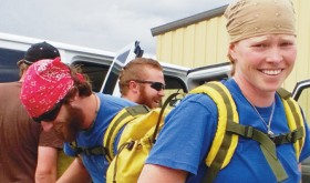 Tara Earl is a member of the Rocky Mountain Youth Corp Veterans Fire Crew, which has been training to fight fires, has mitigated fire-supporting conditions and forage and has even fought a wildland fire in Rio Blanco County this summer.