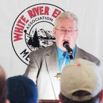Richard Welle, who will be retiring as general manager at White River Electric Association in October, played host and presided over the annual meeting of WREA stockholders last week at the Freeman E. Fairchild Center in Meeker.