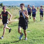 Meeker senior Caleb Lange has led the cross country team with the fastest times and did it again in Grand Junction, running the 5K in 19:01.