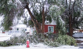 Rangely residents are facing a long-term clean up from the early autumn storm.