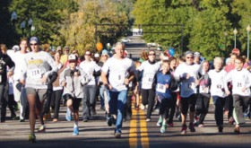 Over 100 walk/run in annual Scrub Shirt Classic 5K race