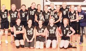 Barone Middle School volleyball teams…