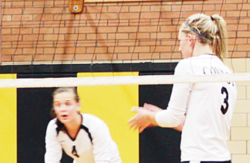 The Meeker High School varsity volleyball team will play its final matches of the regular season in Rangely on Friday and Kremmling on Saturday.