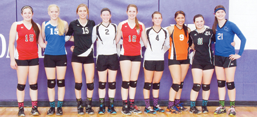 Meeker Volleyball All-State Team