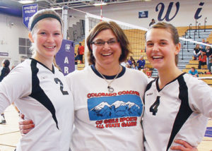 Meeker was well represented in the Colorado Coaches of Girls Sports All-State Games in Denver. Meeker High School seniors Aly Ridings (2) and Piper Haney (4) where selected to play for the Red team and their high school coach Christy Atwood was selected to coach the 2A Red All-State team, featuring Colorado's best players.