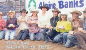Champion barrel racers…