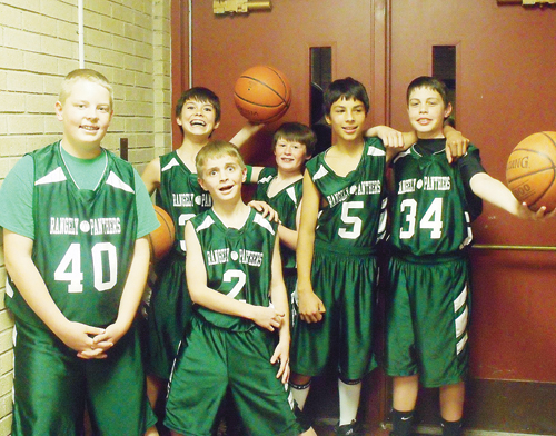 phrgrms 7th bball team