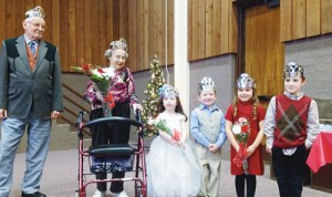 The majority of Rangely's Christmasfest events happen this weekend, including the crowning of a new senior king and queen Saturday at 1:30 p.m. in the CNCC Colorado Room. Norm Hall and Patty Shoe, left, were last year's royalty.