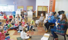 MES Library keeps kids busy, entertained