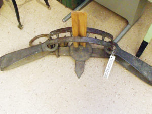 Trapping in large numbers began in the mid-1800s in the Northern Rockies and slowly worked its way south from Montana, through Wyoming and into Colorado's northwest corner. Anything with fur was fair game for the trappers. Pictured above is a bear trap on display at the White River Museum in Meeker.