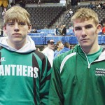 """Rangely's Lucas Heinle and Ethan Allred both wrestled in the """"Big Show."""""""