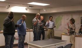 Town board sworn in…