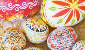 Decorated Easter eggs have a long history