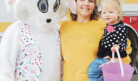 Meeker Lions Club Easter egg hunt…