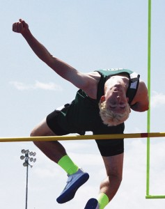 Rangely's Andrew Morton placed in four events and broke the RHS record in the 110-meter hurdles, setting it at 15.56.