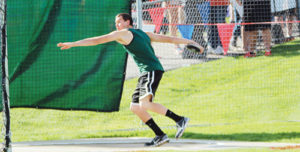 Rangely's Colt Allred  placed in the shot and discus.