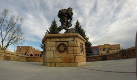 The veterans memorial on the courthouse square in Meeker is to be nominated for a governor's award for the best use of public space.