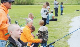 sean mcmahon photos Plenty of kids and their parents took advantage of Meeker Kids' Fishing Day activities at Circle Park in Meeker on Saturday. Lots of kids were introduced to fishing at the event, which included instruction by Colorado Parks and Wildlife and lunch served by the Meeker Lions Club.