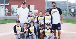 The 2014 summer youth baseball and softball seasons, sponsored by the ERBM Recreation and Parks District includes two 8-10 teams, one 11-12 team and one 8-10 softball team.<span id=