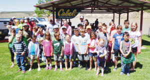 The Rio Blanco Water Conservancy District (RBWCD) had several youth anglers take part in their Kenney Reservoir Fishing Derby on June 6. Helping to make the event a success were Terry Wygant of the Colorado Division of Parks and Wildlife, and Cabela's and Sportsman's Warehouse with their generous donations. The sponsors said they appreciated the participation of those who joined in, and RBWCD officials said they look forward to next year's fishing derby.