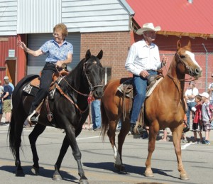 Long active in many facets of life around Meeker, Don and Rosemary Hilkey were chosen to be grand marshals of the 2014 Meeker Range Call Parade, held Friday in downtown Meeker.