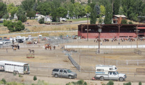 The horse arena at the Rio Blanco County Fairgrounds in Meeker was a busy place Saturday from early morning to late evening as the horse show and all-around competition made for a full day.