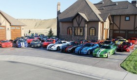 Along with the Viper owned by Rangely Mayor Frank Huitt, 23 Vipers were parked in Huitt's driveway on Friday. Members of the Colorado, Utah and Wyoming Viper Club of America, as well as drivers from Kansas and Texas, were hosted at Huitt's home after touring both ends of Rio Blanco County.