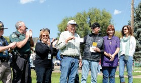 Colorado Grand rolls through Meeker, donates to cause
