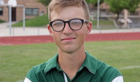 Marshal Way of the Rangely High School golf team was one of three team members to compete this past weekend at the regions. Nick Burri of Meeker who plays for the Rangely team also qualified for the state tournament in Sterling.