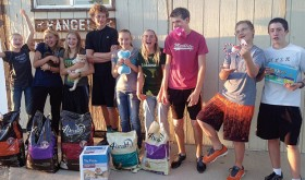 Youth celebrates birthday with animal shelter donations