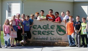 Parkview visit to Eagle Crest…
